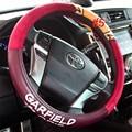 For Volkswagen BMW LUXURY CARTOON PU LEATHER VEHICLE CAR STEERING WHEEL COVER ELEGANT M SIZE 38CM lzh