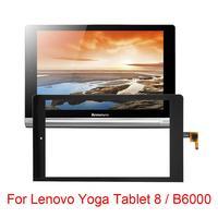 Novo para lenovo yoga tablet 8/b6000/B6000-H peças de reparo substituição do painel toque