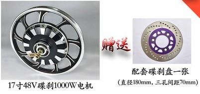 disc model has disc brake