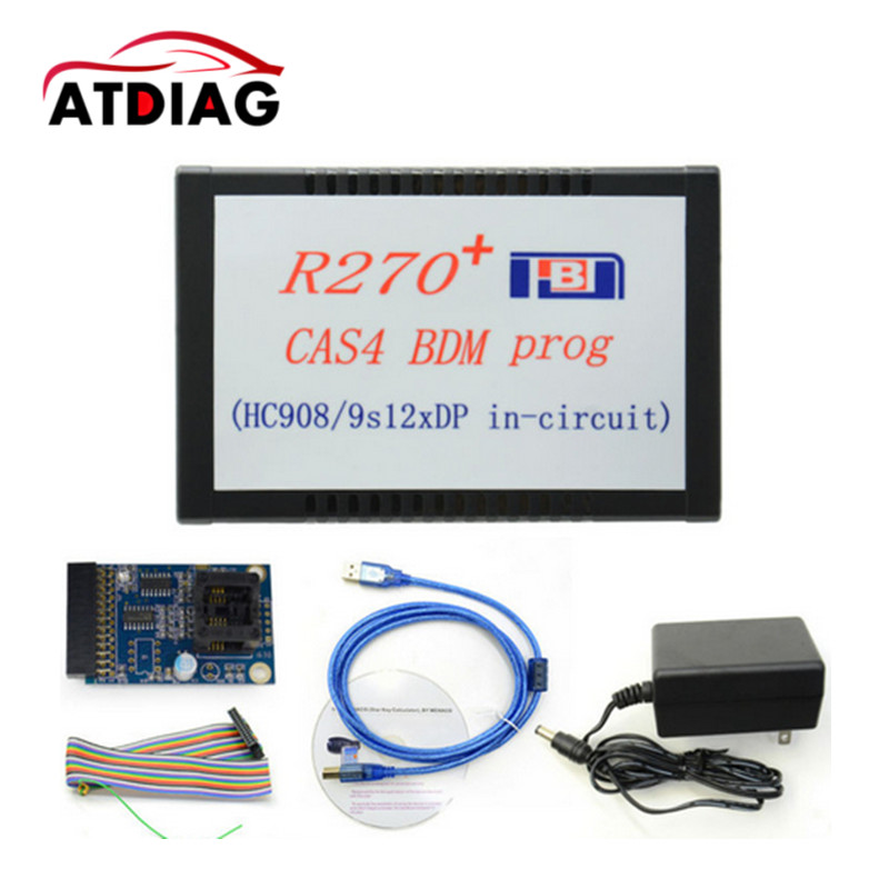 Цена за 2017 высокое качество R270 + CAS4 BDM программист для BMW Professional Auto Key Программист R270 Бесплатная доставка