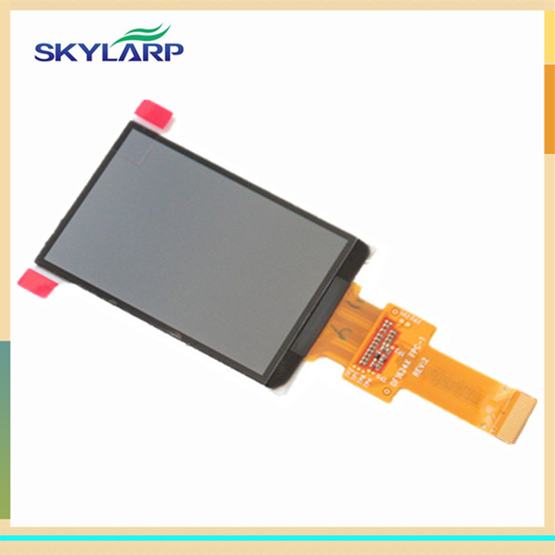 skylarpu 2.6 inch LCD screen DF1624X FPC-1 RE:V For GARMIN edge 800 display screen panel (Without backlight) (without touch) skylarpu 2 6 inch for garmin edge 810 800 handheld gps navigation lcd screen replacement without backlight without touch