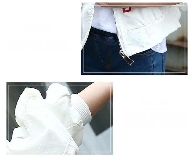 HTB1i1JkaPqhSKJjSspnq6A79XXag - Weixu Children Spring Autumn Coat for Girls Fashion Kids White Bat Sleeves Oversize Biker Jacket Girls School Wear Bomber Jacket