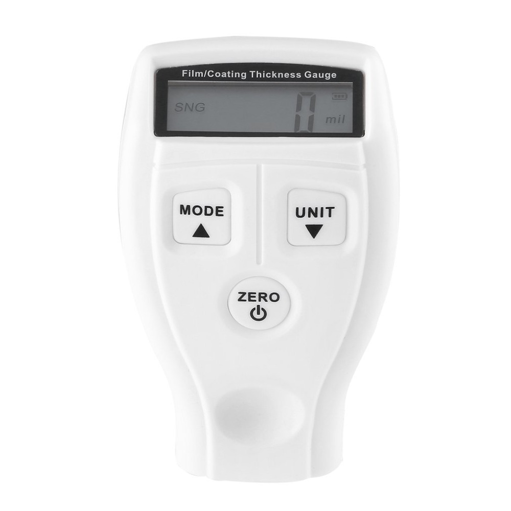 Digital Medidor de Espessura de Revestimento Pintura Do Carro Espessura Tester Medidor de Lcd GM200 GM201