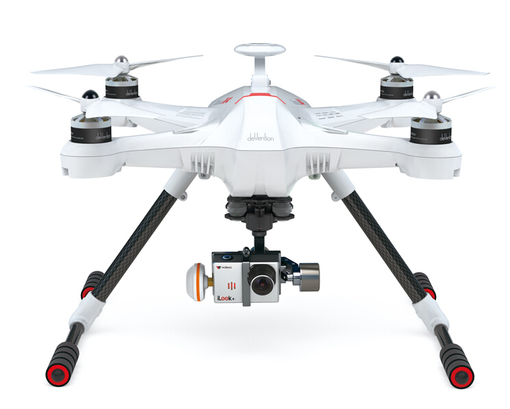 Walkera Scout X4  Devo F12E G-3D gimbal FPV Aerial aircraft  TX5803/4 for gopro 3/3+  Free Express Shipping