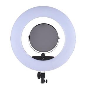 Image 5 - التصوير استوديو لايف FD 480II 96 واط LED حلقة الفيديو ضوء مصباح ث/LCD عرض المكياج مرآة لكانون نيكون سوني كاميرا