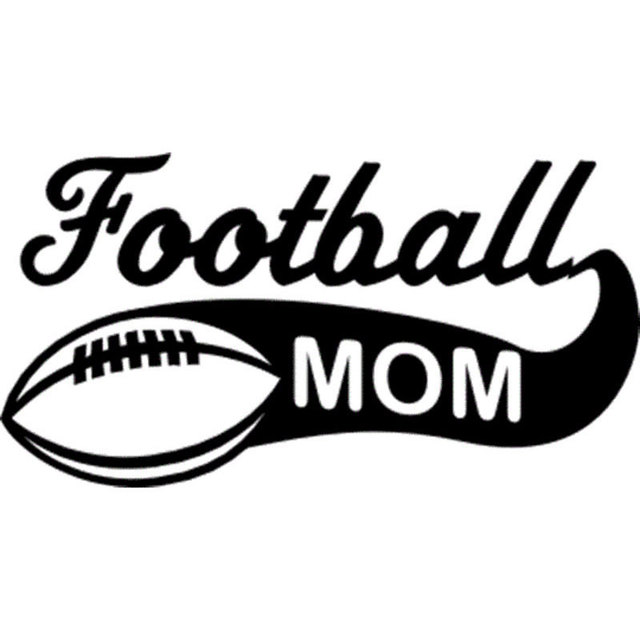 15 2cm7 9cm football mom vinyl car styling funny stickers reflective car window decals