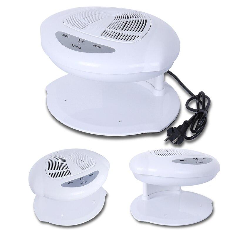Belen Nail Dryer Fan Auto Induction Warm & Cool Wind Auto Sensors UV Gel Nail Polish Fan Dryer Nail Varnish DHL TNT Shipping