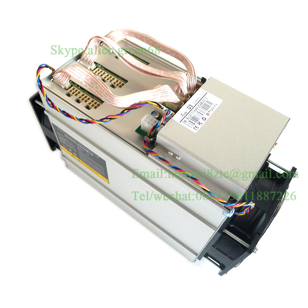 Brand New Dash Miner Bitmail Antminer D3 17GH/S With PSU 1200W