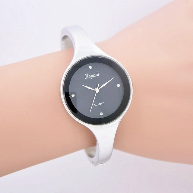 Women Watches Full Steel Bracelet Watch Women Luxury Crystal Quartz Watch Ladies