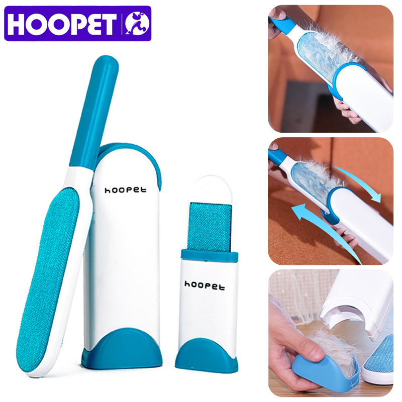 HOOPET Pet Dog Brush Cat Grooming Comb Hairbrush Cleaning Tool Hair Remover Brush Supplies Products for Cats in Cat Grooming from Home Garden