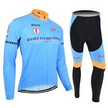 2017 nueva llegada bxio pro equipo de bicicletas ropa ciclismo jersey largos conjuntos de ropa de moto ciclismo ropa de hombre verano 016