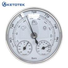 Температура Влажность атмосферное давление монитор метр 3 в 1 Метеостанция бытовой термометр гигрометр барометр