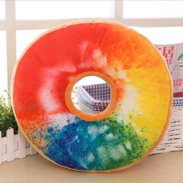 Donut Plush Pillow