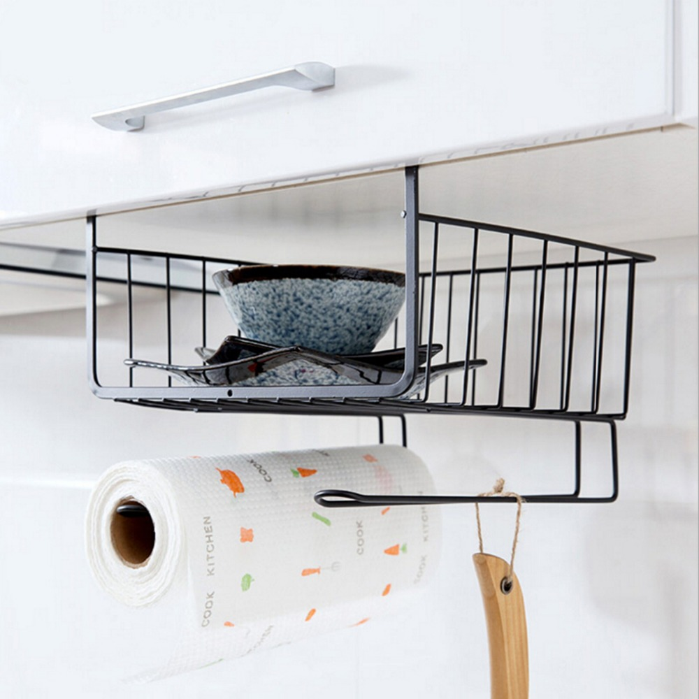 Multi Function Stainless Steel Storage Rack Under Shelf