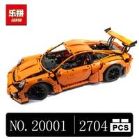 DHL LEPIN 20001 Technic Series Race Car Model Building Kits Blocks Bricks Compatible 42056 Boys Gift
