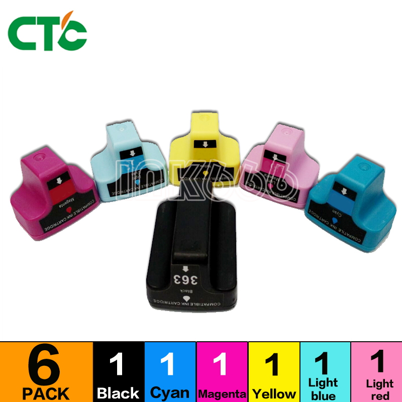 Ink Cartridges for HP Photosmart 2 Compatible HP 02 Bk//C//M//Y//LC//LM US Versions