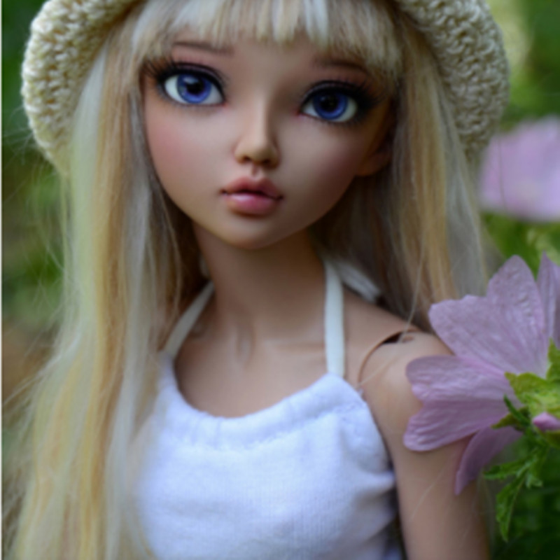 2020 New Chloe Cline Ante Mirwen Msd 1/4 Ball Joint Doll BJD Doll With Eyes