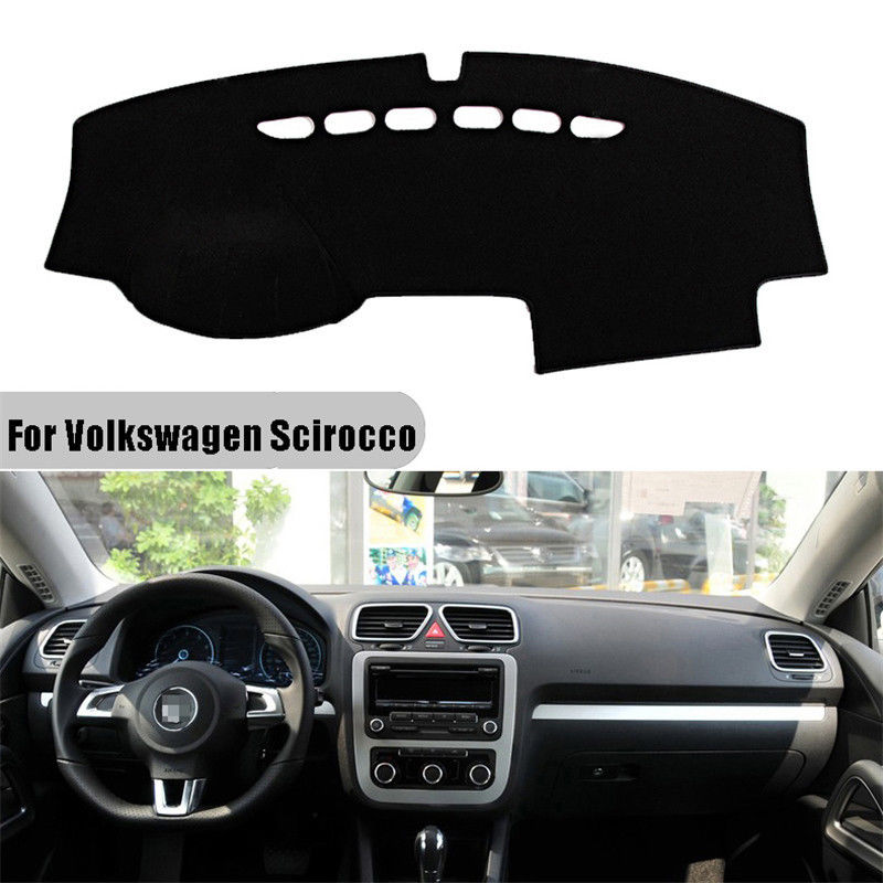 For Volkswagen VW Scirocco 2009 2010 2011 2012-2014 Dashboard Cover Mat Pad Sun Shade Instrument Dashmat Carpet Car Accessories