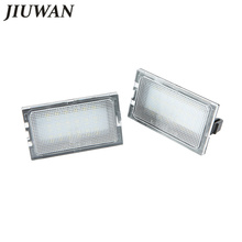 1 Pair Car LED License Plate Lights 12V Number Plate font b Lamp b font For