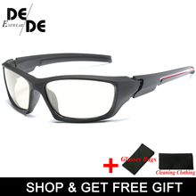 New Driving Polarized Photochromic Sunglasses Men Chameleon Glasses Women Driver Goggles