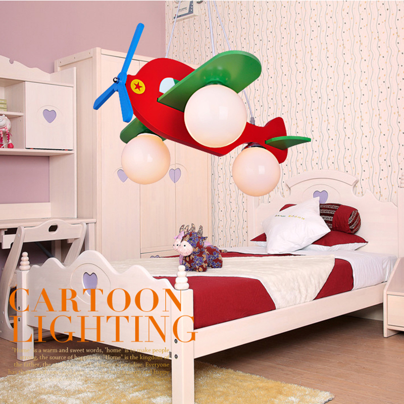 Nordic New Air eye protection airplane lights children 's room creative cartoon cute LED bedroom lighting boy room lighting led suction dome light fashion cartoon study bedroom children s room lights