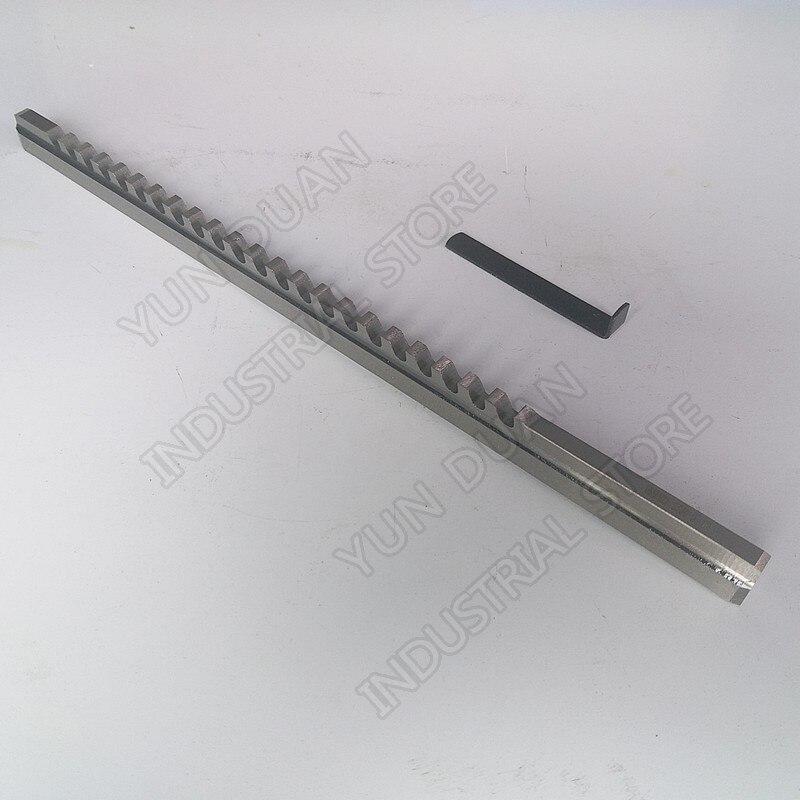 Push tipo de Alta Velocidade de Aço Ferramenta de Corte para Cnc Máquina para Metais Polegada Abordar Chaveta c Hss Brochar 5 – 16