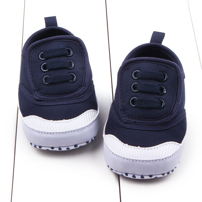 Casual Baby Canvas Shoes Unisex Boy Girl Soft Sole Infant Anti-slip Sneakers First Walkers