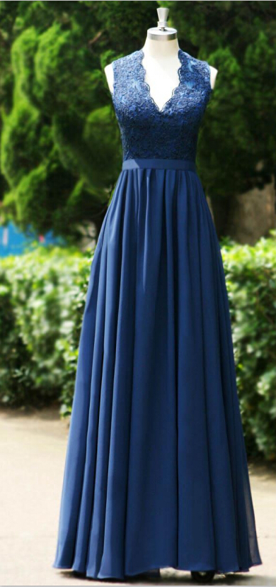 Popular Navy Blue Prom Dresses-Buy Cheap Navy Blue Prom