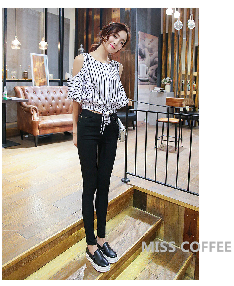 Free Shipping 17 New Autumn Fashion Pencil Jeans Woman Candy Colored Mid Waist Full Length Zipper Slim Fit Skinny Women Pants 4
