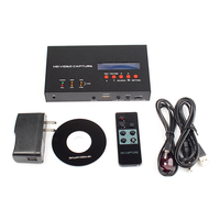 HD Video Capture Box eZcap283 YPbPr Recorder Box With Scheduled Recording 1080P HDMI Game Capture for XBOX One/360 PS3 #75629