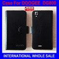 Чехол для DOOGEE VALENCIA DG800 кожа, valencia dg800 чехол перевёрнутый эксклюзивный чехол отслеживания номер