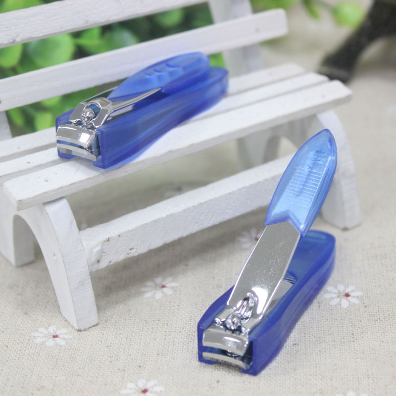 1PC Plastic Toes Nail Clippers Cutter With Clip Catcher Carbon Steel ...