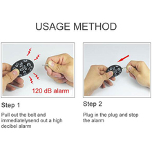 Free shipping 20pcs pack Personal alarm self defense attack Emergency alarms for women kids and elderly