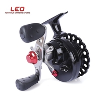 LEO DWS60 4 1BB 2 6 1 65MM Fly Fishing Reel Wheel With High Foot