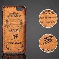 Noble Erkekler Kabartmalı Kahverengi Kehribar Ven Için Cep Telefonu Kılıfları Samsung S8/iPhone 6 6 s Artı, hakiki Deri Cep Telefonu Arka Kapak