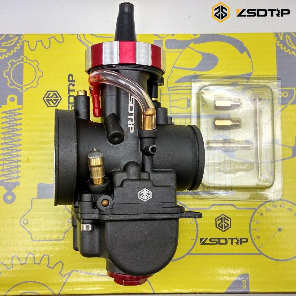 ZSDTRP PWK mikuni nouveau modifier modèle 28 30 32 34mm carburateur carburateur boîtier pour yamaha FZ16 et autre marque moteur