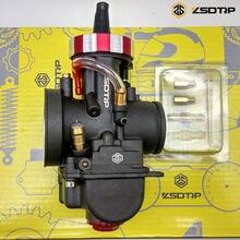 Zsdtrp pwk mikuni novo modelo de movimentação, 28 30 32 34mm carburador caso para yamaha fz16 e outra marca motor do motor