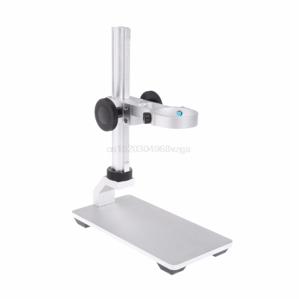 Aluminium Alloy Stand Bracket Holder Universal Microscope Bracket Portable USB Digital Electronic Table Microscopes For <font><b>G600</b></font> image