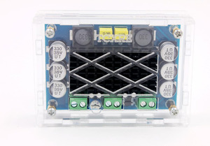 Image 5 - DC 12V 24V 100W TPA3116 DA Mono Channel digital Power audio amplifier board with Acrylic shell