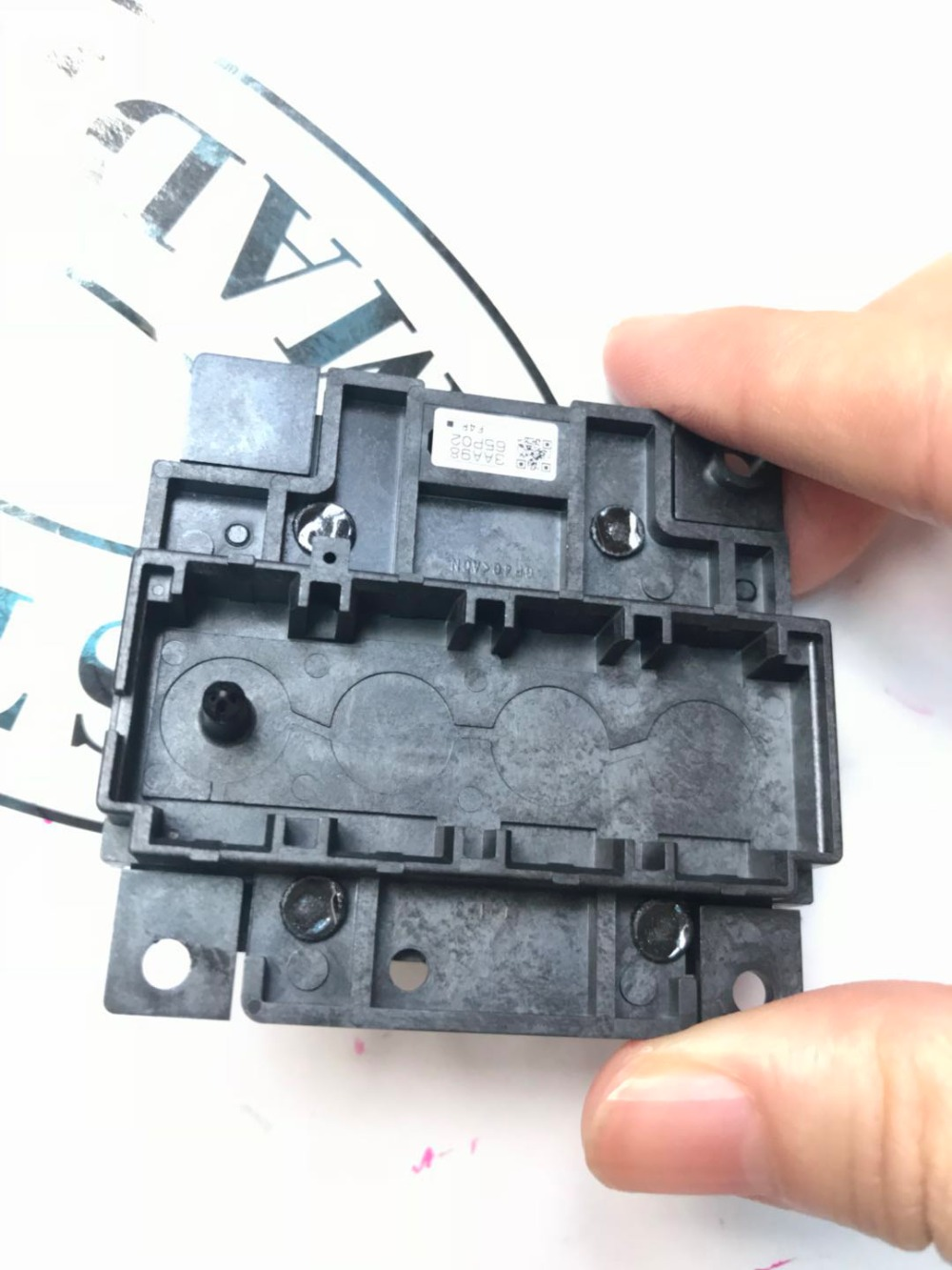 USED  Print head for EPSON M200 M205 M105 printer M101 M201 M100  Print Head used 100