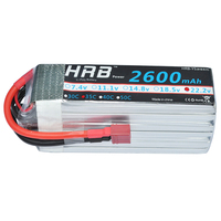HRB RC Lipo 6s Battery 22.2V 2600mAh 35C 70C for RC Models Car Quadcopter Helicopter Boat Airplane