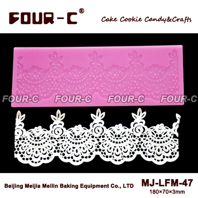 Silicone cake lace mat,perfect cake decorating mould ...