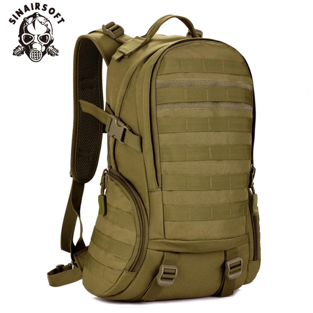 SINAIRSOFT 25L Camping sac à dos étanche Molle sac à dos école militaire sac à dos tactique Sport randonnée vélo sac à dos LY0020