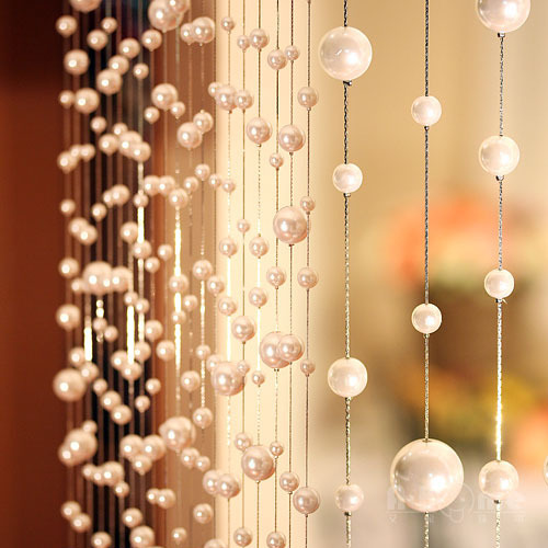 Buy 10 Meters Pearl Acrylic Beads Curtain Can Be Customized Crystal Curtain
