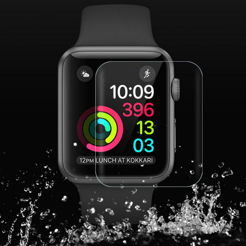 Anti-Shock TPU 3D Full Coverage Protective Film For iwatch Apple Watch Series 1/2/3 38mm 42mm Screen Protector Cover(Not Glass) series 1 2 3 soft silicone case for apple watch cover 38mm 42mm fashion plated tpu protective cover for iwatch