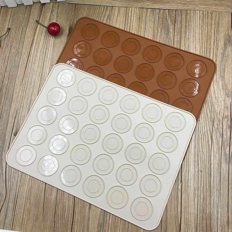 30-holte DIY Schimmel Bakken Mat Hot NIEUWE Siliconen Cakevorm Siliconen Makaron Gebak Oven Bakvorm Sheet mat