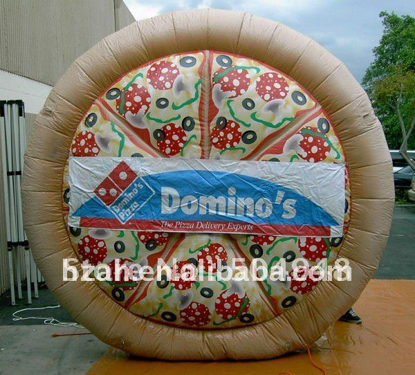 Big Advertising Inflatable Pizza Model