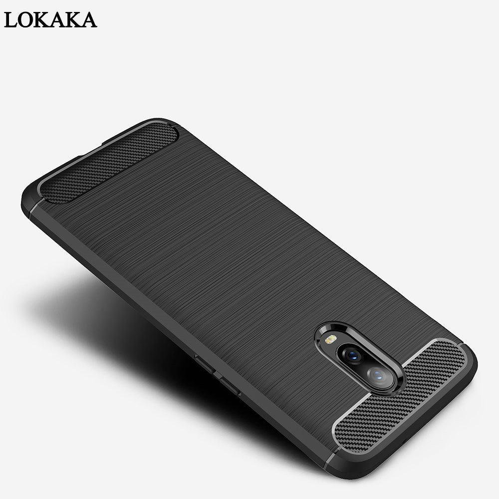 LOKAKA Cover Case For Oneplus 6t Soft TPU Full Protective