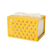 Creative Fashion Meta Removable Tissue Boxes Old Style Home Decor American Metal Box Paper Cases