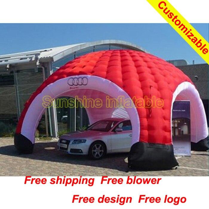 Китай высокое качество grand надувные палатка купол для мероприятий для коммерческих